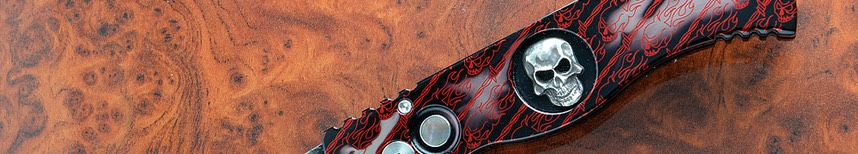 Pro Tech TR-2 Limited Edition Skull Knife -$450