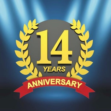 14yrs logo large