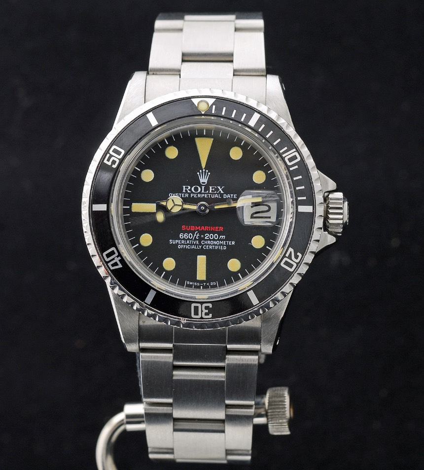 Rolex Red Submariner 1680 on NATO -SOLD