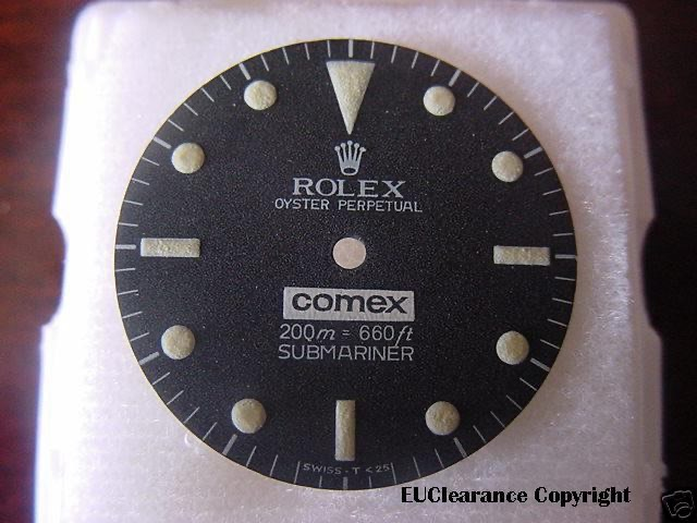 comex faked dial