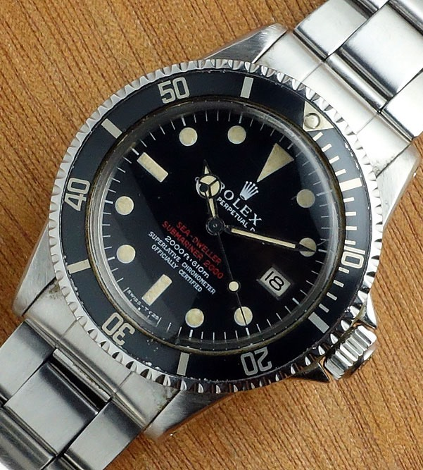 Rolex Sea-Dweller 1665 Patent Pending Mark 1 -Email for Price
