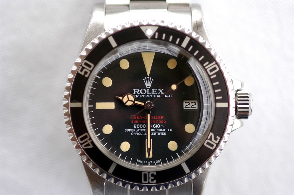 Rolex 1665 Double Red Sea Dweller Dials