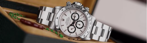 "Rolex Daytona ""Floating""Cosmograph Zenith, Box and Papers- $88,500.00"